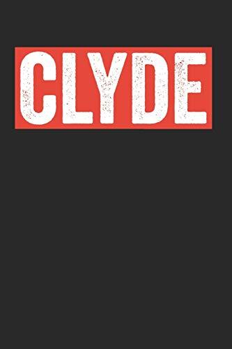 Clyde: Notebook Notizbuch Punktraster Dottgrid Gepunktet A5 I Clyde I Valentinstag 14. Februar I Valentines Day I Partner Geschenk I Freund I Valentinstagsgeschenk I Vatertag I Buch