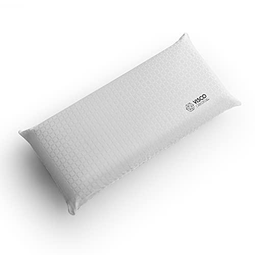 Kuo Dream – Almohada Visco Carbono | Viscoelástica con partículas de Carbono antiestrés | Firme 135 cm