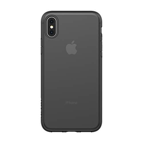 Incase Protective Clear 14,7 cm (5.8') Funda Negro - Fundas para teléfonos móviles (Funda, Apple, iPhone XS, 14,7 cm (5.8'), Negro)