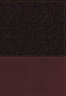 NKJV Study Bible, Leathersoft, Red, Full-Color, Thumb Indexed, Comfort Print: The Complete Resource for Studying God's Word