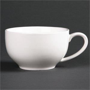 Lumina bombée Tasses 228 ml 226,8 gram 228 ml. Blanc. Quantité : 6.
