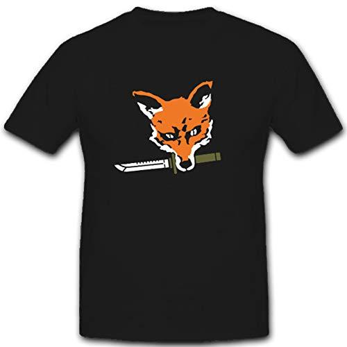 Rambo Fox vos mes wapen combat Knife - T-shirt #4865