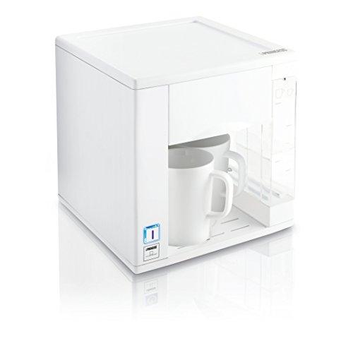 Princess Compact4All - Cafetera con capacidad de 0.3 l, color blanco