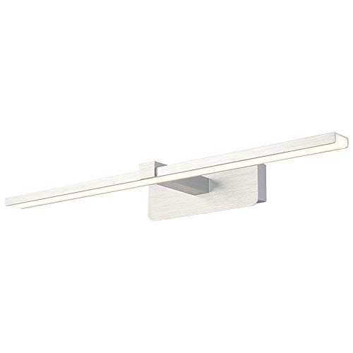 Warm Nordic Style-Aluminium-Wandleuchten Moderne LED-Schlafzimmer-Spiegellampe Badezimmer LightToilet Dresser Makeup Lampe Anti-Fog-Spiegel Scheinwerfer Illuminate Ihr Zuhause (Size : 59CM)