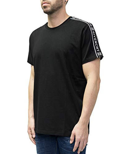 Givenchy Logo Taped Sleeve Tee (XXL)