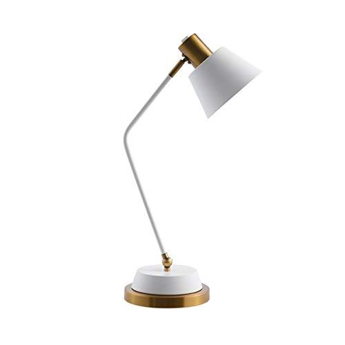 Lámpara Escritorio LED Hierro Protección for los ojos Lámpara de mesa Dormitorio Lámpara de cabecera Escritorio Estudio Lectura...