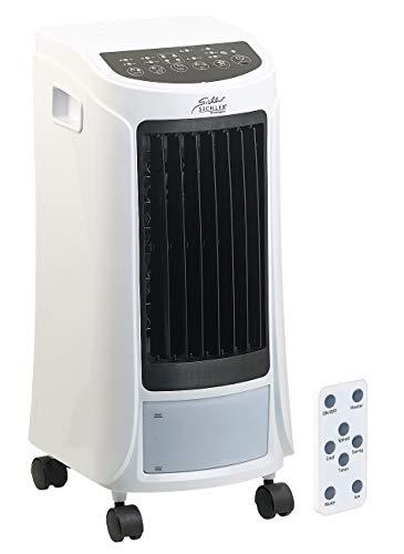 Sichler Haushaltsgeräte Lufterfrischer: 4in1-Klimagerät zum Kühlen und Heizen, mit Ionisator-Funktion, 1.800 W (Klimaanlage mobil)