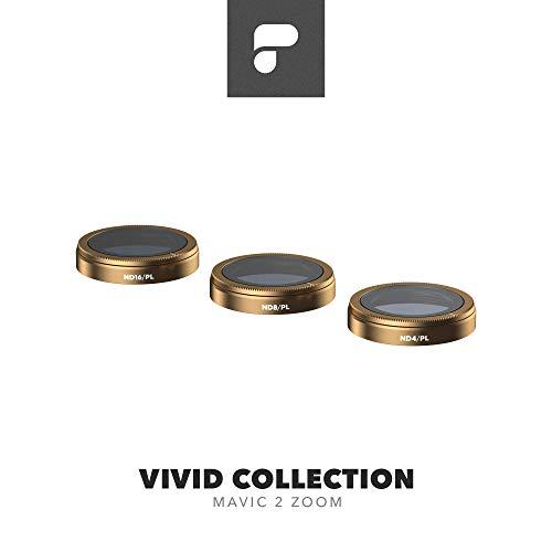 Oferta de PolarPro Colección de filtros vívidos para Mavic 2 Zoom - dji Mavic 2 Filtros (ND4/PL, ND8/PL, ND16/PL)