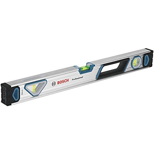 Bosch Professional Wasserwaage 60 cm (rundum ablesbar, Aluminium Gehäuse, robuste Endkappen, in Blister)