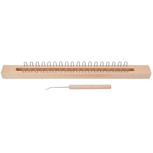 Learn More About Wooden Knitting Machine, Rectangular Wooden Weaving Loom Hand Wool Knitting Machine...