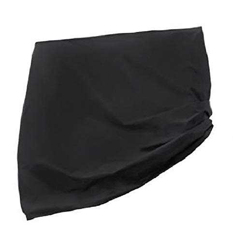 lINOC Table Tennis Table Cover Waterproof Ping Pong Table Cover Outdoor/Indoor Windproof Anti-UV Sunproof Black 160×90×145cm