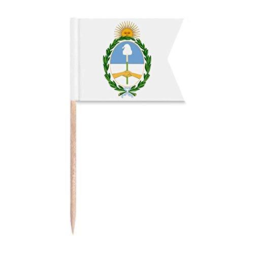 Beauty Gift Buenos Aires Argentina National Emblem Markierung für die Kennzeichnung von Zahnstocher-Flaggen