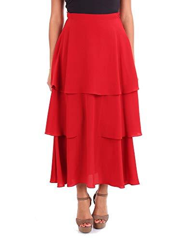 Stella McCartney Luxury Fashion Donna 546694SY2066403 Rosso Seta Gonna | Stagione Outlet