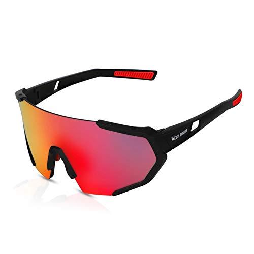 Gafas de sol polarizadas de seguridad para hombres y mujeres, gafas de ciclismo resistentes al viento, gafas de exterior para pesca, golf, béisbol, correr, conducir