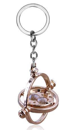 Pierre - Llavero de reloj de arena con diseño de Hermione en la escuela de los brujeros (Dore)