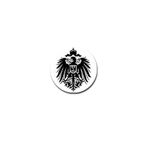 Deutsches Kaiserreich Aufkleber Sticker Kaiser Römische Reich 7x7cm#A4256