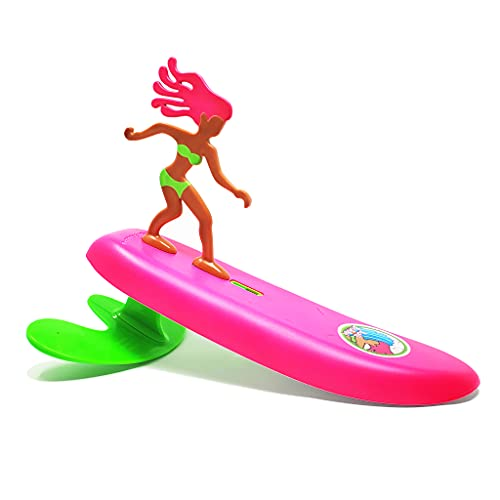 Surfer Dudes Classics Wave Powered Mini-Surfer and Surfboard Toy - Bali Bobbi