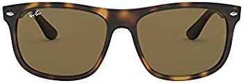 Ray-Ban Men's Shiny Havana Square Sunglasses