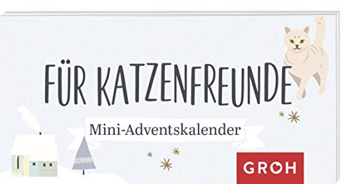 Für Katzenfreunde: Mini-Adventskalender