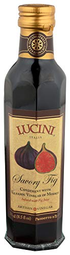 Lucini Savoury Fig Balsamico Artisan Vinegar, 250ml Glass Bottle