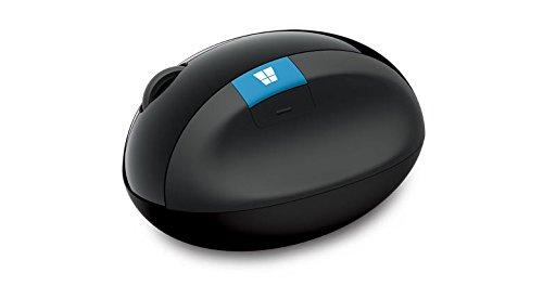 Microsoft Sculpt Ergonomic Mouse Ergonomische Maus für Windows 7/8 schwarz
