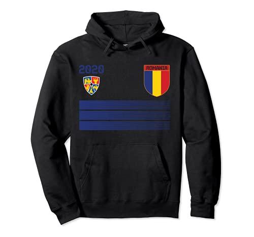 Maglia da calcio Romania 2020 Romania Soccer Felpa con Cappuccio