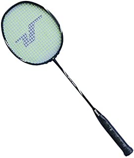 Vinex Badminton Racket - Tech Series 1000 (Graphite), 1 pc only with Carry Bag