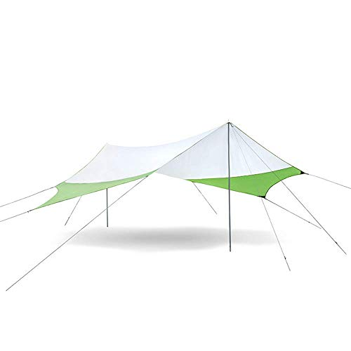 GOHHK Paño de Sombra Hexagonal Anti-Rayos dañinos para Exteriores, Protector Solar Impermeable, pérgola de Dosel Grande, terraza de jardín Adecuada para Acampar en la Playa