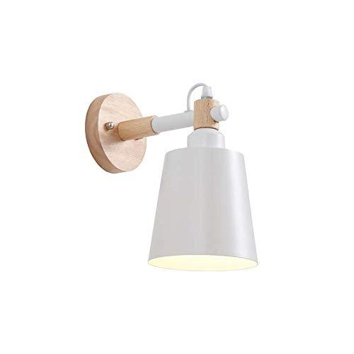 GaLon wandlamp wandlamp voor slaapkamer van massief hout Nordic - Moderne moderne woonkamer - bureau voor kinderkamer - wandlamp