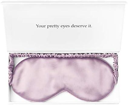 YANSER Luxury Silk Eye Mask 100 Mulberry Silk Sleep Mask Anti Aging Skin Care 6 Colors Ultra product image
