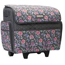 Everything Mary Deluxe Nähwagen gesteppt rosa Floral 46x23x46cm EVM10130-8