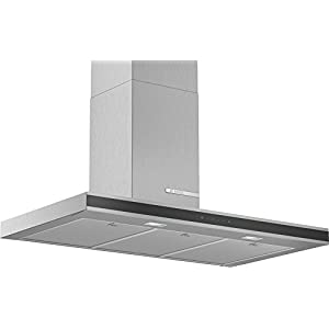 Bosch DWB96FM50 – Campana extractora de pared (acero inoxidable, 90 cm)