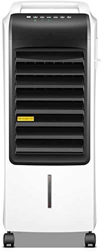 Desktop Mute-ventilator, ventilator voor tweeërlei gebruik met afstandsbediening en timer, koeler, airconditioning met drie windstanden, voor kantoor in slaapkamer, slaapzaal zwart