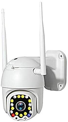 LJYY Überwachungskamera IP 1080P WLAN WLAN-PTZ-Kuppelkamera für den Außenbereich mit 50 m Nachtsicht 4X optischer Zoom Bewegungserkennungsalarm Zweiwege-Audio-1080P_Kamera