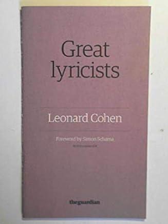 Leonard Cohen (Great lyricists)