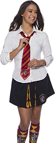 Rubies Cravate Officielle Harry Potter, Gryffondor/Gryffindor, Taille Unique, Rouge