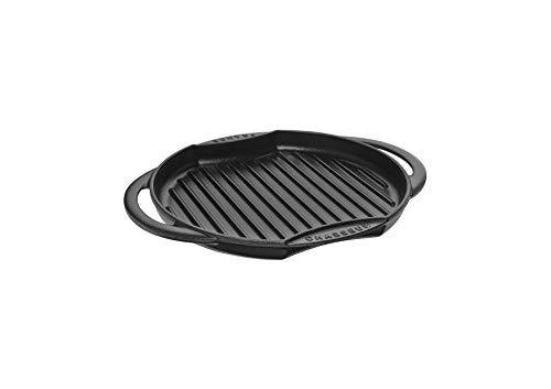 Chasseur 3350 Sun Grill rond-26 cm-Noir Mat, Fonte, Schwarz, 29 cm