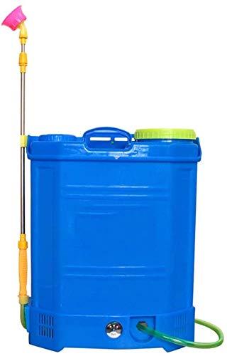 RZiioo Intelligente tragbare elektrische Sprayer, Einstellbare Spray-Muster, Wiederaufladbare Him-Ionen-Akku Multifunktions-Rucksack Sprayer 10Ah 15x6.5x9.5cm