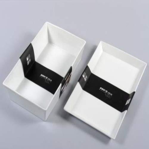 ASA 52145017 Plat de Service en Porcelaine Blanc 39,50 x 26 x 26 x 3 cm
