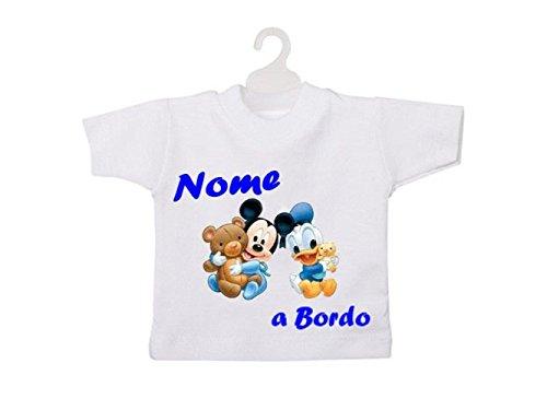ATELIER DEL RICAMO Mini T-Shirt Bimbo A Bordo-Bianco
