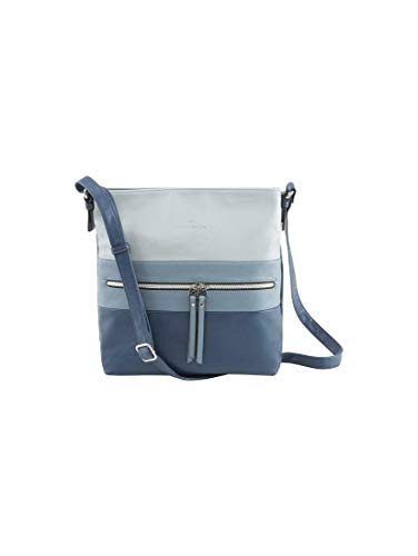 TOM TAILOR Damen Taschen & Geldbörsen Hobo-Tasche Ellen Mixed Blue,OneSize