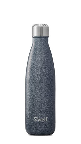 S'well Stainless Steel Water Bottle - 17 Fl Oz - Night Sky - Triple-Layered Vacuum-Insulated Containers Keeps Drinks Cold for 41 Hours and Hot for 18 - with No Condensation - BPA Free Water Bottle