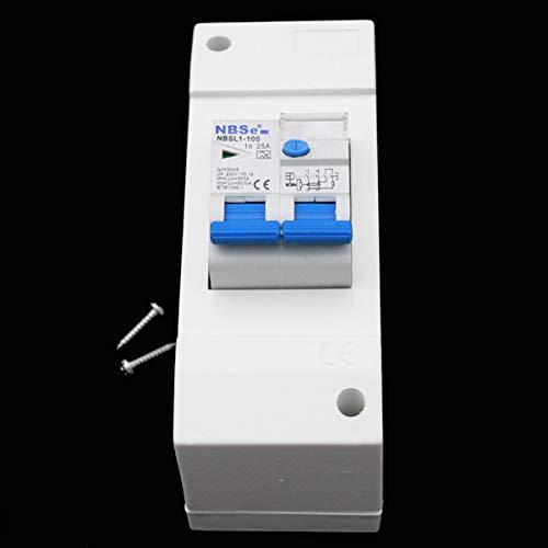 Sicherungskasten + FI Schalter Sicherungsautomat 30 mA Wohnwagen Wohnmobil Caravan Boot 230V