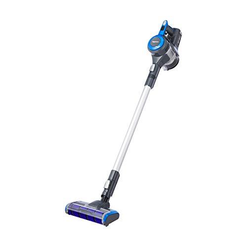 AmazonBasics 2-in-1 Cordless Stick Vacuum Cleaner, Powerful BLDC motor, 15000pa, High Capacity Lithium Battery & LED Brush, Additional Fluffy Brush, HEPA filter (UK)
