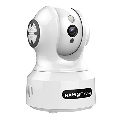 NAMOCAM Full HD CCTV 2 MP 1080p WiFi Wireless IP Security Camera | Supports Upto 512 GB SD Card & Cloud Storage| Compatible with Alexa|Motion Detection|Pan–Tilt – 8x Zoom |Inbuilt Mic and Speaker