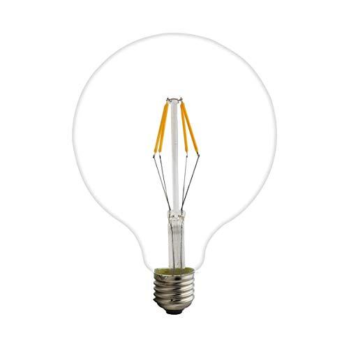 YGR Tornillo Retro Dragón Bola Bombilla LED Lámpara de filamento