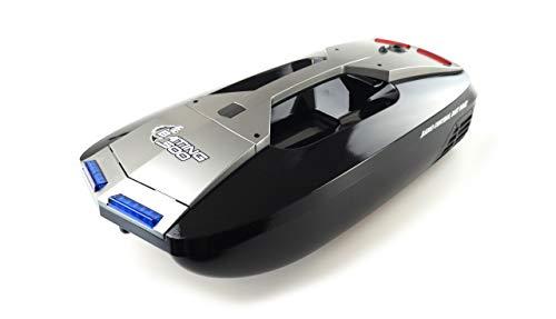 Amewi 26080 Baiting B 500 V3 - Barca da 2,4 GHz RTR, radiocomandata, colore: Nero Argento