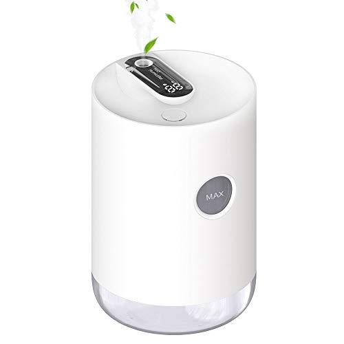 Plartree Humidificador Casa 1000 ml, Humidificador Ultrasónico Silencioso USB con Luz, Apagado Automático y Humidificador de Bebé de Gran Capacidad para Dormitorio / Oficina / Coche