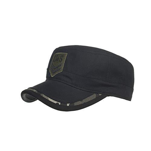 TWIFER Gorras algodón Lavado Caps Militares Cadete