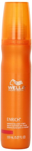 Wella Enrich Moisturizing Leave In Balm, Orange , 5.07 Ounce
